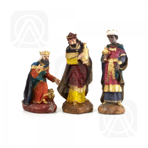 Reyes Magos 20cm brillo